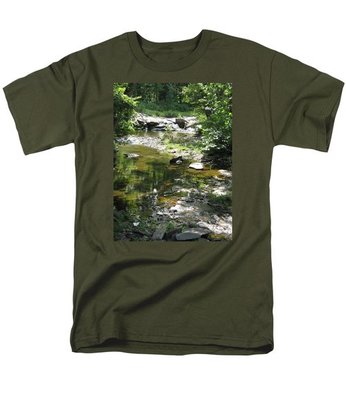 Men's T-Shirt  (Regular Fit) featuring the photograph Cool Waters by Ellen Levinson