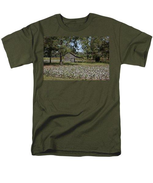 Cotton In Rural Alabama Men's T-Shirt  (Regular Fit)