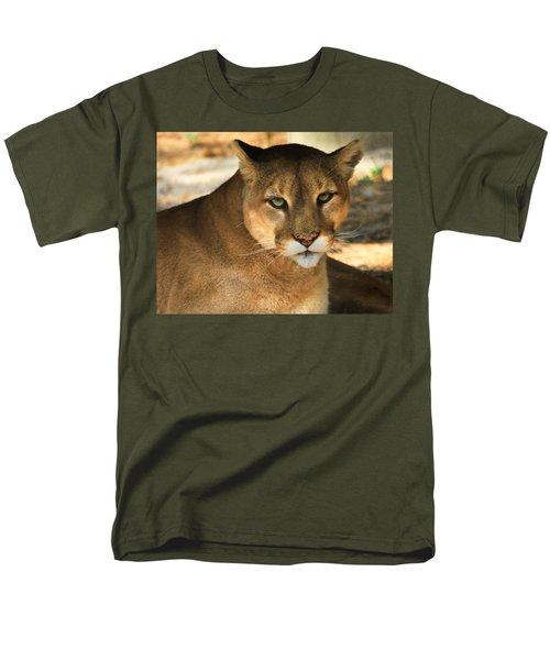 Cougar II Men's T-Shirt  (Regular Fit) by Roger Becker