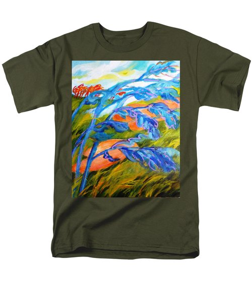Count The Wind Men's T-Shirt  (Regular Fit) by Betty M M   Wong
