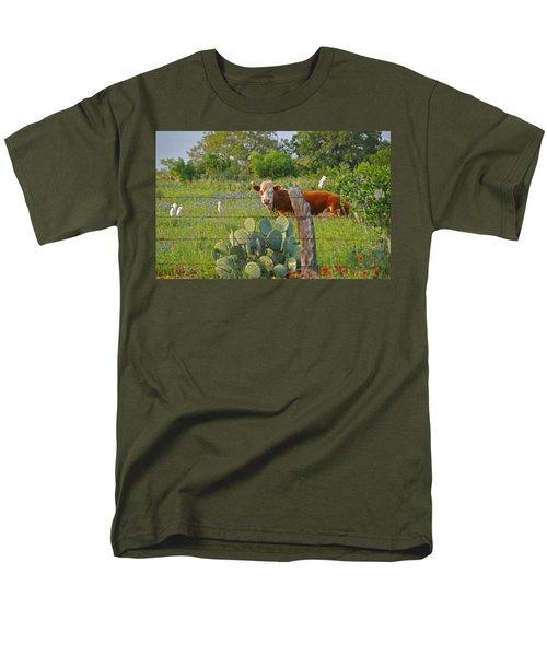 Country Friends Men's T-Shirt  (Regular Fit) by Lynn Bauer