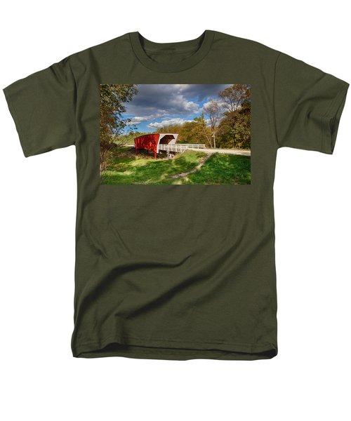 Covered Bridge Men's T-Shirt  (Regular Fit) by Sennie Pierson
