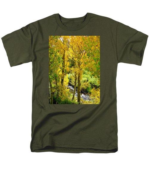 Creekside Men's T-Shirt  (Regular Fit) by Marilyn Diaz