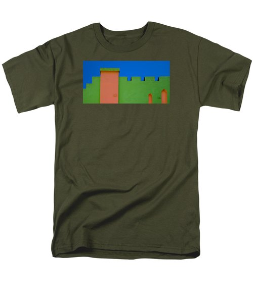 Crenellated Roof Men's T-Shirt  (Regular Fit)