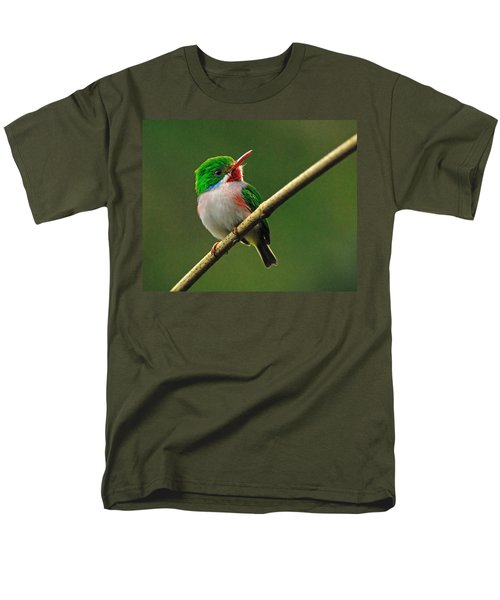 Cuban Tody Men's T-Shirt  (Regular Fit) by Tony Beck