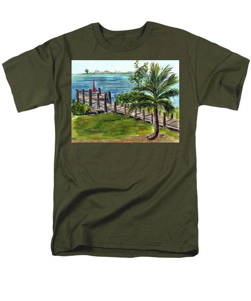 Cudjoe Dock Men's T-Shirt  (Regular Fit)