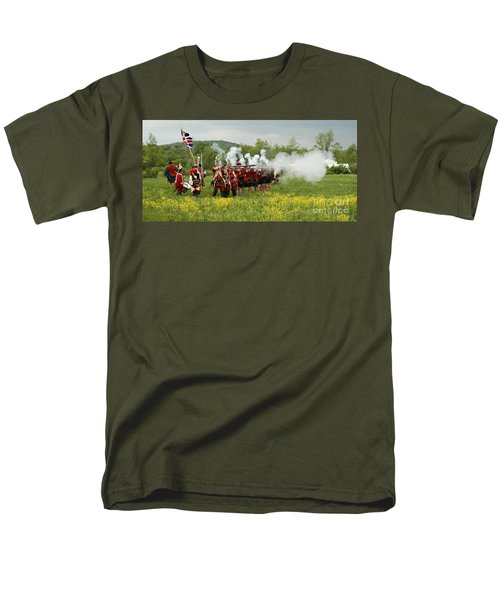 Culloden Loyalists Men's T-Shirt  (Regular Fit) by Carol Lynn Coronios