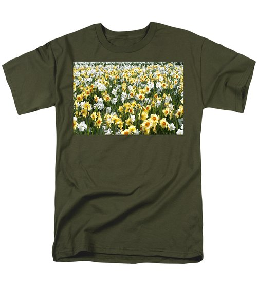 Men's T-Shirt  (Regular Fit) featuring the photograph Daffodils by Lana Enderle