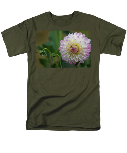 Dahlia In The Mist Men's T-Shirt  (Regular Fit) by Jeanette C Landstrom