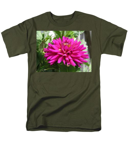 Men's T-Shirt  (Regular Fit) featuring the photograph Dahlia Named Andreas Dahl by J McCombie