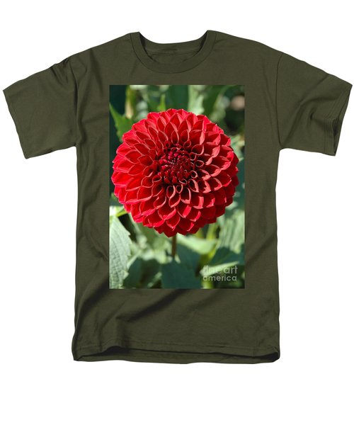 Men's T-Shirt  (Regular Fit) featuring the photograph Dahlia Xii by Christiane Hellner-OBrien