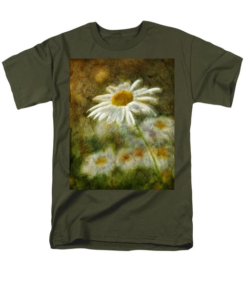 Daisies ... Again - P11at01 Men's T-Shirt  (Regular Fit) by Variance Collections