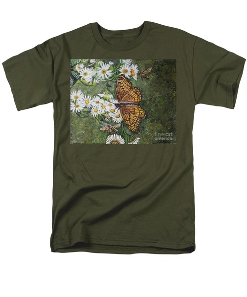 Dance With The Daisies Men's T-Shirt  (Regular Fit) by Kimberlee Baxter