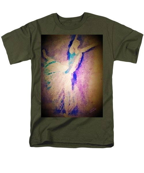 Dancing Donna Men's T-Shirt  (Regular Fit) by Renee Michelle Wenker