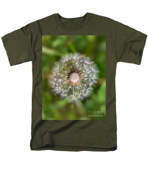 Dandelion Men's T-Shirt  (Regular Fit) by Carsten Reisinger