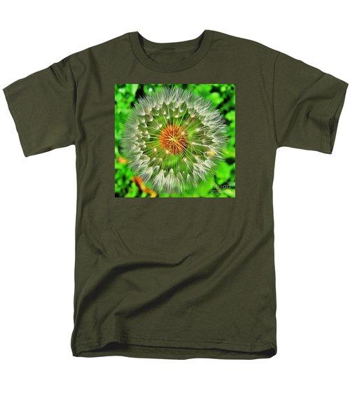 Dandelion Circle Men's T-Shirt  (Regular Fit) by John King
