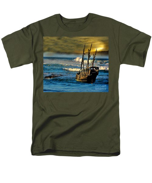 Dangerous Waters Men's T-Shirt  (Regular Fit) by Blair Stuart
