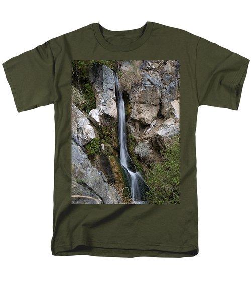 Darwin Falls Men's T-Shirt  (Regular Fit) by Joe Schofield