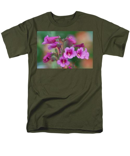 Men's T-Shirt  (Regular Fit) featuring the photograph Pink Flowers by Tam Ryan