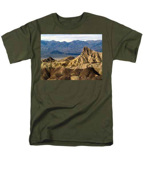 Death Valley Np Zabriskie Point 11 Men's T-Shirt  (Regular Fit)