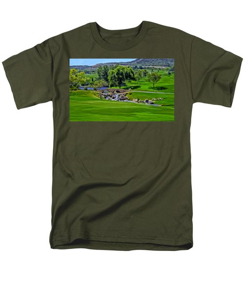 Del Mar Country Club Men's T-Shirt  (Regular Fit) by Michael Pickett