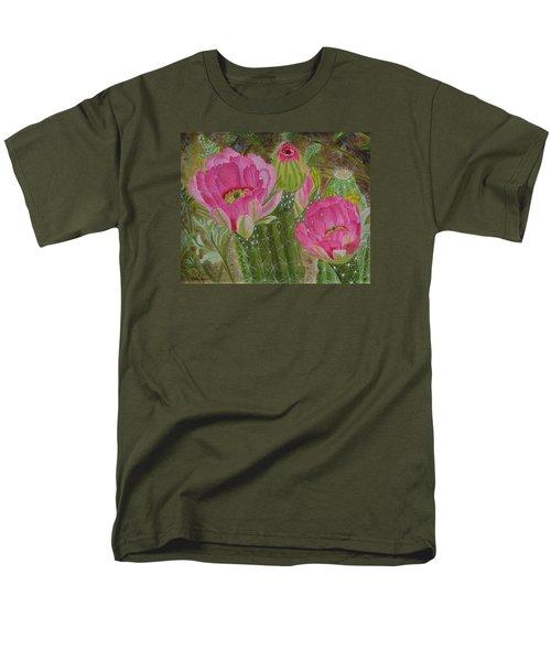 Desert Stars Men's T-Shirt  (Regular Fit) by Donna  Manaraze