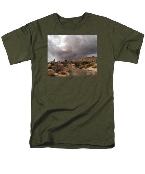 Desert Storm Come'n Men's T-Shirt  (Regular Fit) by Angela J Wright