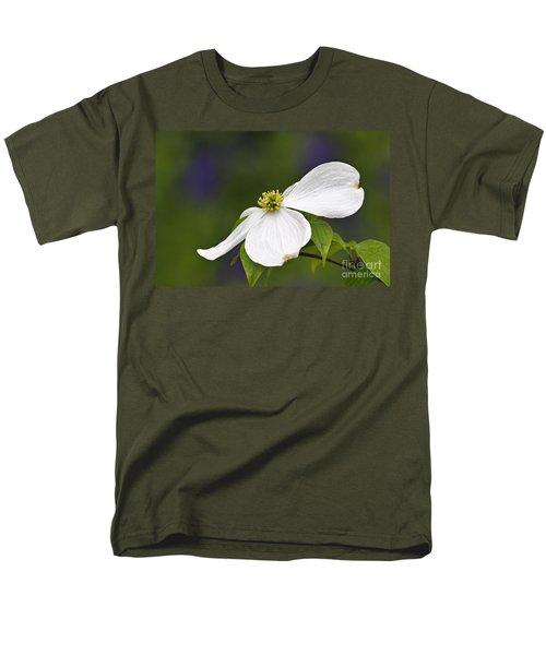 Dogwood Blossom - D001797 Men's T-Shirt  (Regular Fit) by Daniel Dempster