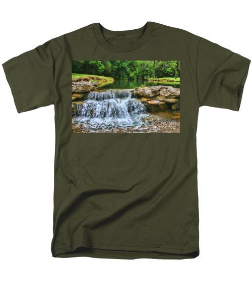 Dogwood Canyon Falls Men's T-Shirt  (Regular Fit)