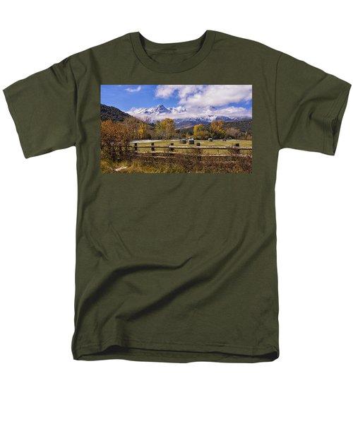 Double Rl Ranch Men's T-Shirt  (Regular Fit) by Priscilla Burgers