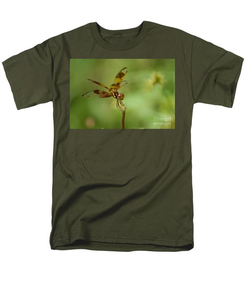 Men's T-Shirt  (Regular Fit) featuring the photograph Dragonfly 2 by Olga Hamilton