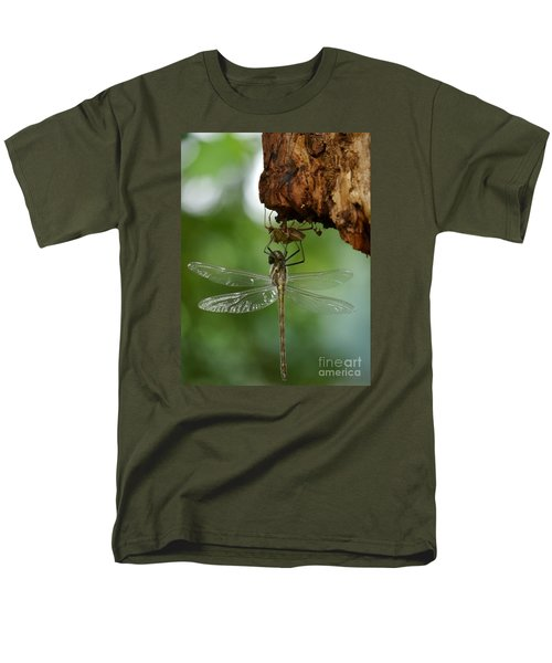Dragonfly Men's T-Shirt  (Regular Fit) by Jane Ford