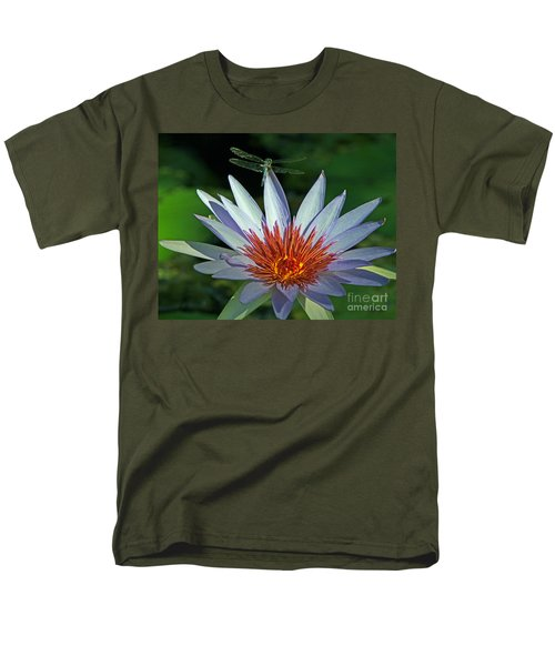 Men's T-Shirt  (Regular Fit) featuring the photograph Dragonlily by Larry Nieland