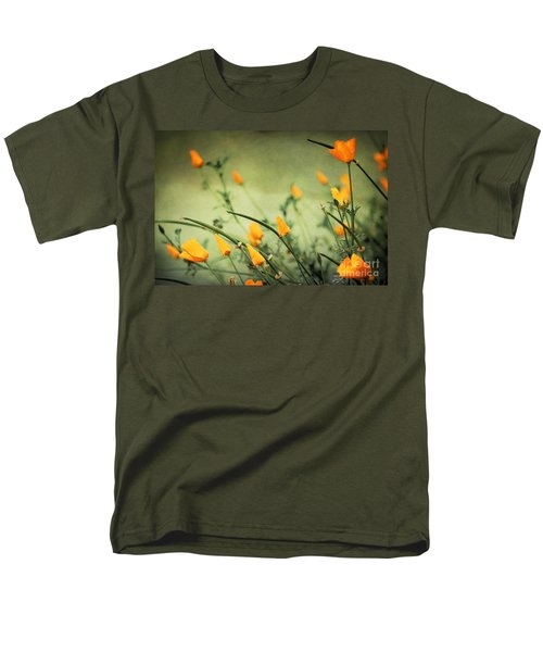 Men's T-Shirt  (Regular Fit) featuring the photograph Dreaming Of Spring by Ellen Cotton