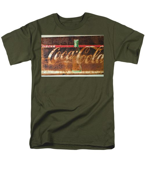 Drink Coca-cola Men's T-Shirt  (Regular Fit) by Tikvah's Hope