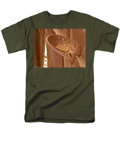 Men's T-Shirt  (Regular Fit) featuring the photograph Drivers Seat by Nick Kirby