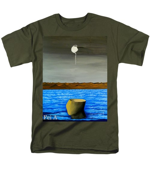 Dry-land Culture Men's T-Shirt  (Regular Fit) by Fei A