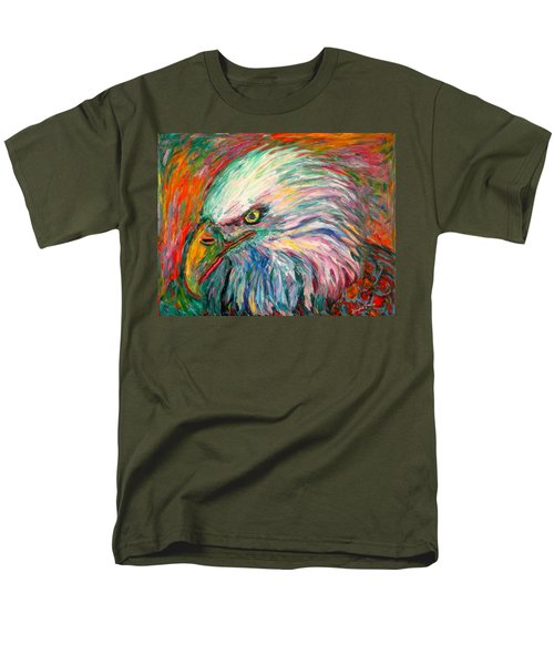 Eagle Fire Men's T-Shirt  (Regular Fit) by Kendall Kessler