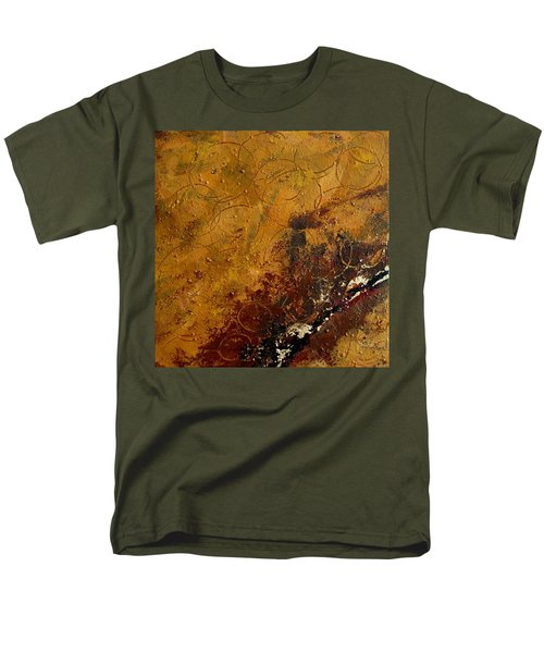 Earth Abstract Two Men's T-Shirt  (Regular Fit) by Lance Headlee