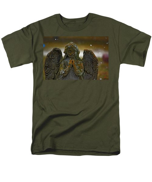 Earth Angel Men's T-Shirt  (Regular Fit) by Rowana Ray