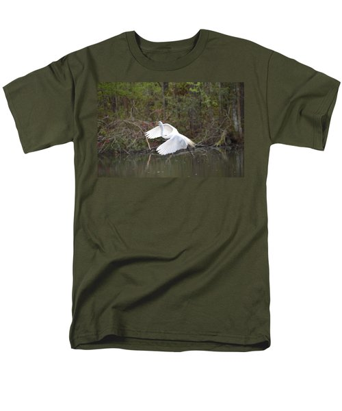 Over The Lagoon Men's T-Shirt  (Regular Fit) by Judith Morris