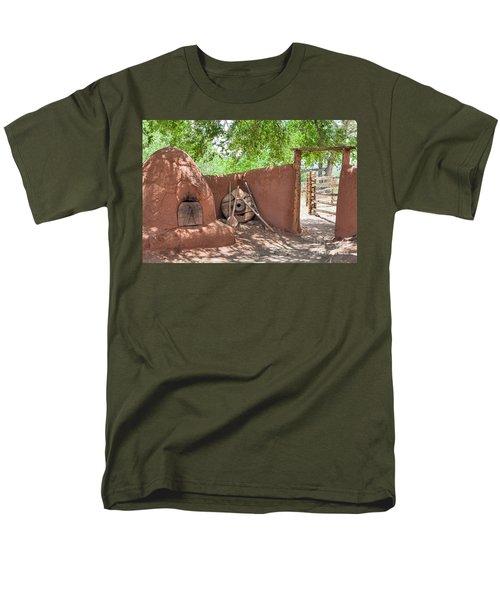 Men's T-Shirt  (Regular Fit) featuring the photograph El Rancho De Las Golondrinas by Roselynne Broussard