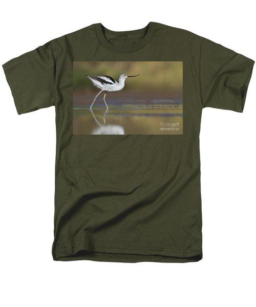 Elegant Avocet Men's T-Shirt  (Regular Fit) by Bryan Keil