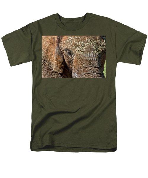 Elephant Never Forgets Men's T-Shirt  (Regular Fit) by Miroslava Jurcik