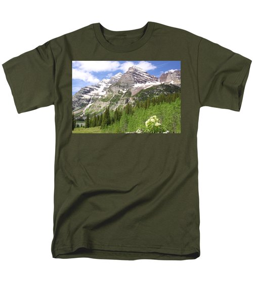 Elk Mountains Men's T-Shirt  (Regular Fit) by Eric Glaser