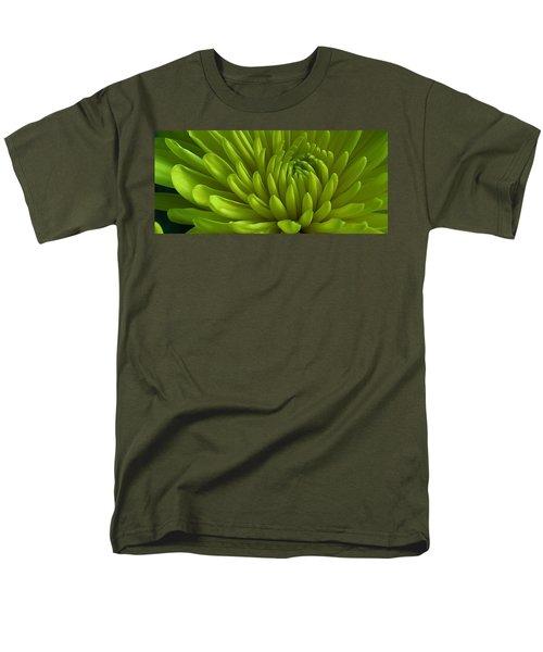 Emerald Dahlia Men's T-Shirt  (Regular Fit) by Bruce Bley