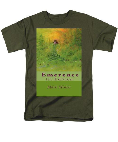 Emerence 156 Page Paperback. Men's T-Shirt  (Regular Fit) by Mark Minier