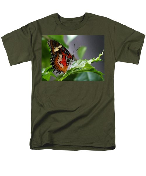 Men's T-Shirt  (Regular Fit) featuring the photograph Enchanted Butterfly by Bruce Bley