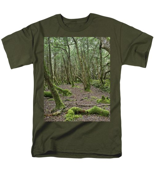 Men's T-Shirt  (Regular Fit) featuring the photograph Enchanted Forest by Hugh Smith