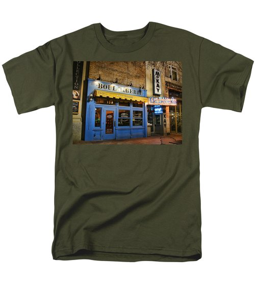Men's T-Shirt  (Regular Fit) featuring the photograph Eva's Bakery  by Ely Arsha